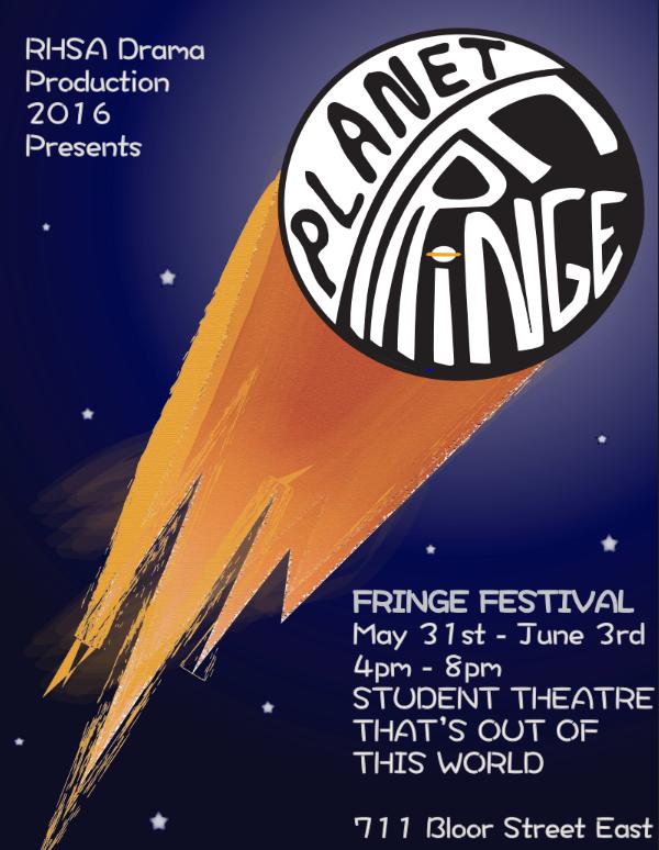 Planet Fringe Poster